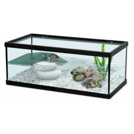 Aquarium Tortum noir Terratlantis pour tortue d'eau Modèle 55