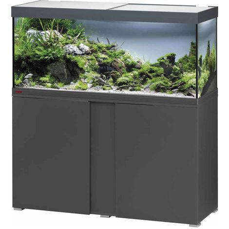Aquarium Vivaline Led De 240l Avec Meuble Eheim Anthracite