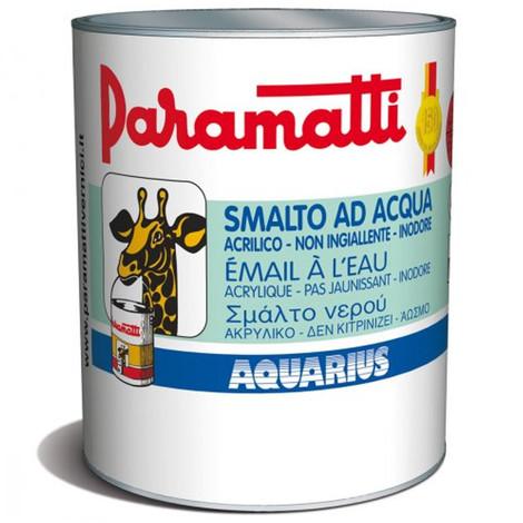 AQUARIUS SMALTO AD ACQUA LUCIDO BIANCO ML 750 PARAMATTI