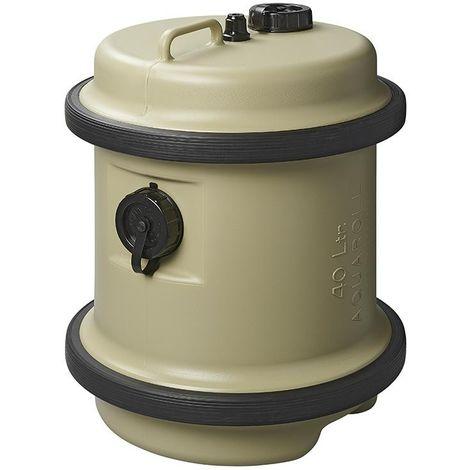Aquaroll clean water tank 40L beige