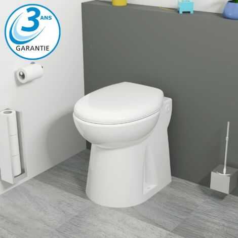 "main image of ""Aquasani Compact - WC broyeur intégré - Fabrication Française"""