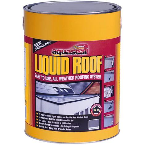 Aquaseal Liquid Roof Slate Grey 7kg