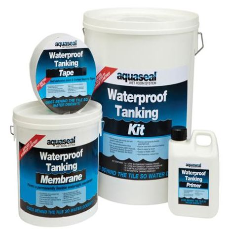 Aquaseal Wet Room System Kit