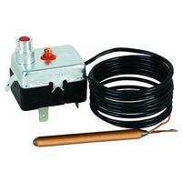 Aquastat de sécurité fixe 110°C avec réarmement manuel