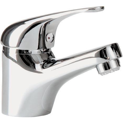 'aquaSu® 76086 7 Samba Einhandmischer für Waschtisch Niederdruck, Chrom