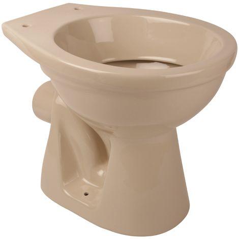 'aquaSu® Stand-WC , Tiefspüler , Abgang waagerecht , Beige , Toilette , Klo , Keramik , Hygiene , Bad , Badezimmer , Gäste-WC