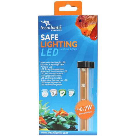 Aquatlantis - Éclairage pour Aquarium Sarawak 15 et 18 de 16 LED - 0,7W