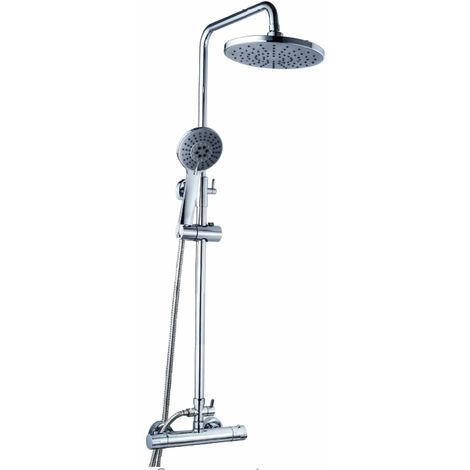 AQUORE ELM Kit de ducha con grifería Termostática