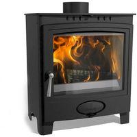 Arada Ecoburn Plus 5 Widescreen Defra Approved Multifuel / Wood Burning Stove