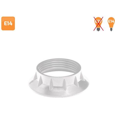 Arandela para portalámparas E14 blanca - Blanco