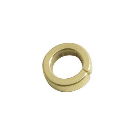 Arandela pernio wolfpack 403 / 9,5 mm. hierro latonado.