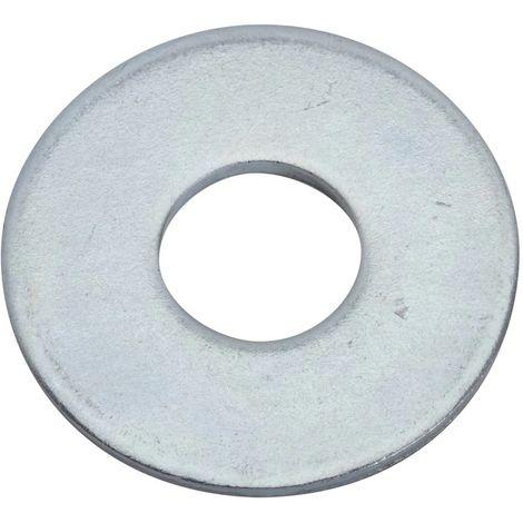 """main image of """"arandelas planas de acero galvanizado - 10L"""""""