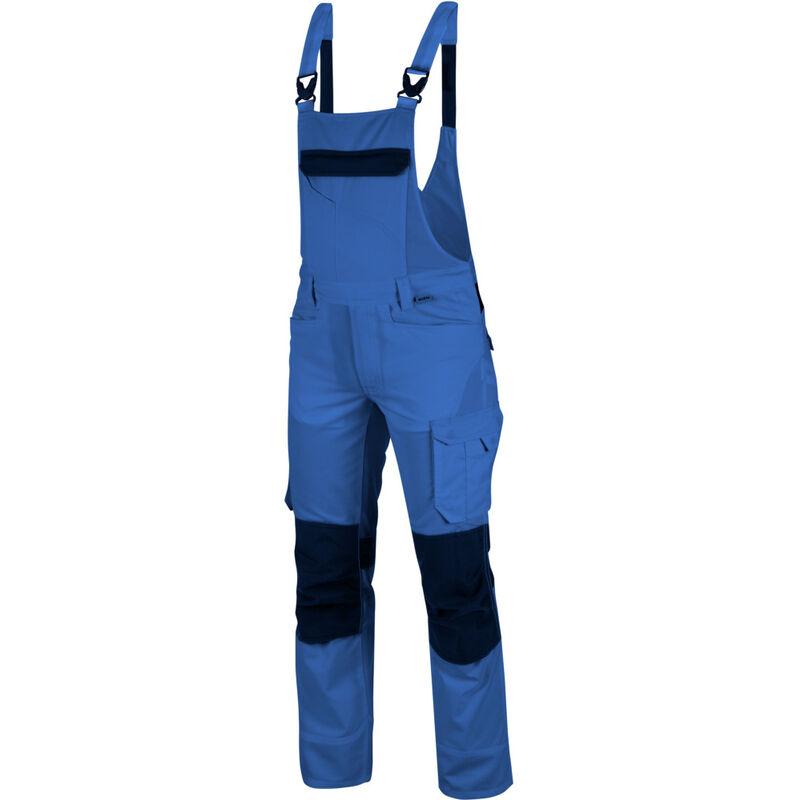 Cetus Arbeitslatzhose: Die hochwertige Arbeitslatzhose ist in der Größe 98 & in royalblau schwarz erhältlich. Die elastischen Träger sorgen für TOP