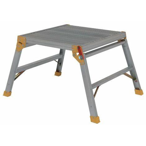 Arbeitsplattform 60x60cm; kompakt; klappbar; stabile; 1 stufig - 312898