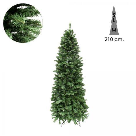 Arbol De Navidad 210 cm. Slim 972 Ramas PVC