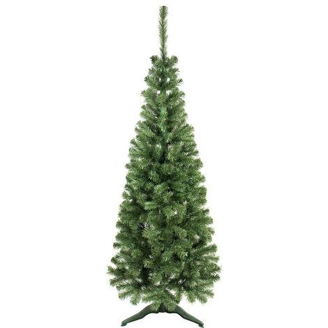 Árbol de Navidad Alberta 180x70cm Verde Thinia Home