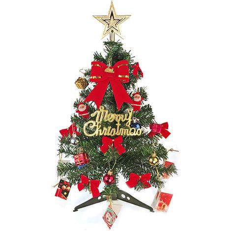 arbol de navidad, arbol de navidad artificial, con los ornamentos, los 60CM