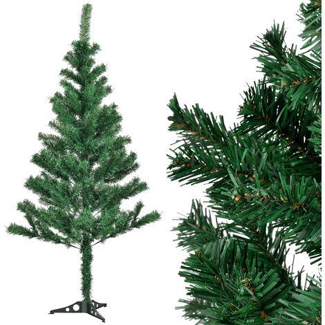 Árbol de Navidad artificial (150cm x Ø 75cm) - soporte incluido - 218 puntas