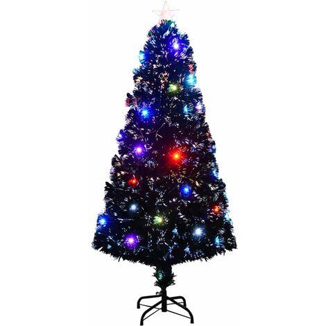 Árbol de Navidad artificial con soporte/LED 150 cm 170 ramas