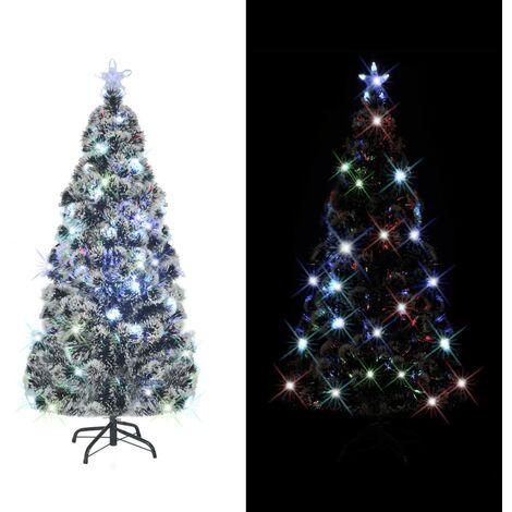 Árbol de Navidad artificial con soporte/LED 150 cm 1700 ramas