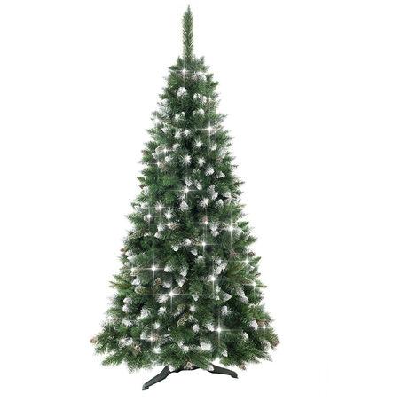 Árbol de Navidad Canadá Verde Nevado Thinia Home