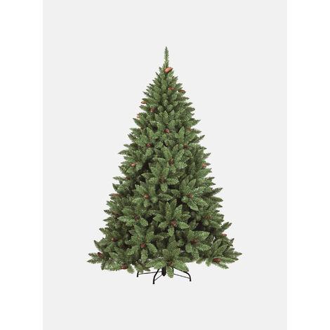 """Árbol de Navidad """"Claudia"""", Alto 150 cm, Con piñas incluidas, 464 ramas, 100 x 100 x 150 cm"""