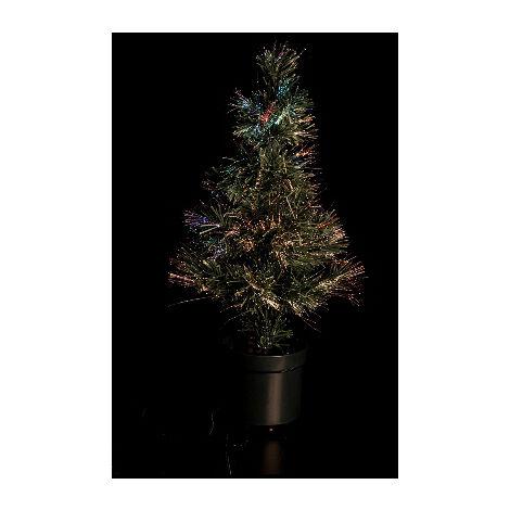 Árbol de navidad de fibra óptica verde 60cm. (F-Bright 701)