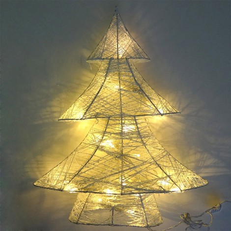 Arbol De Navidad Decorativo Led 3Xaa 10X34X40Cm - NEOFERR