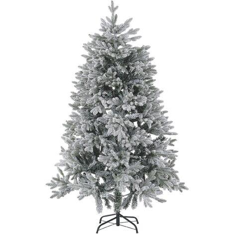 Árbol de Navidad efecto nieve 180 cm blanco FORAKER