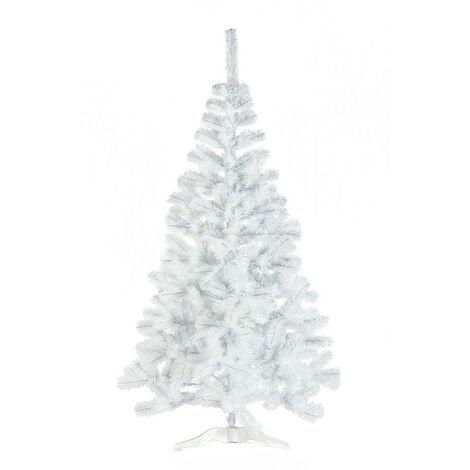 Árbol de Navidad Laponia 150x80cm Blanco Thinia Home