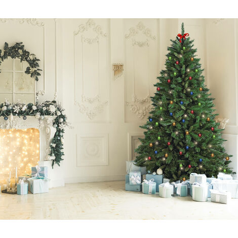 """Árbol de Navidad """"Led"""", Alto 180 cm, 723 ramas, Con luces LED incluidas, 110 x 110 x 180 cm"""