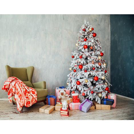 """Árbol de Navidad """"María"""", encalado, extra grueso"""