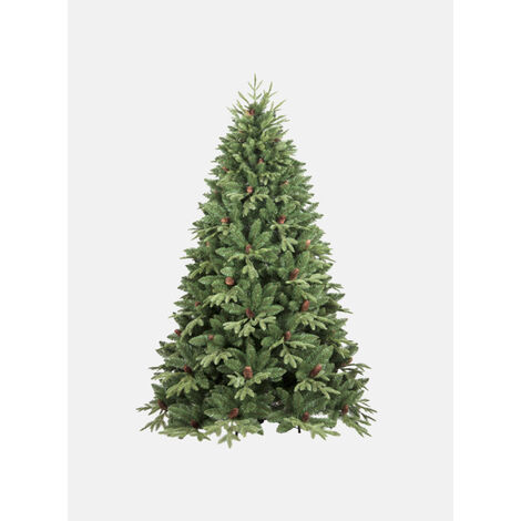 """Árbol de Navidad """"Stella"""", con piñas incluidas,"""