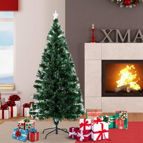 Arbol de Navidad Verde Φ74x150cm + Luces LED Arbol Artificial