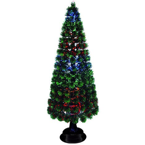 Árbol Led fibra óptica multicolor 90cm. (F-Bright 695)