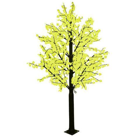 "main image of ""Árbol Maple de Navidad LED Exterior 130W 230V 3x1,5 mt.   Amarillo"""