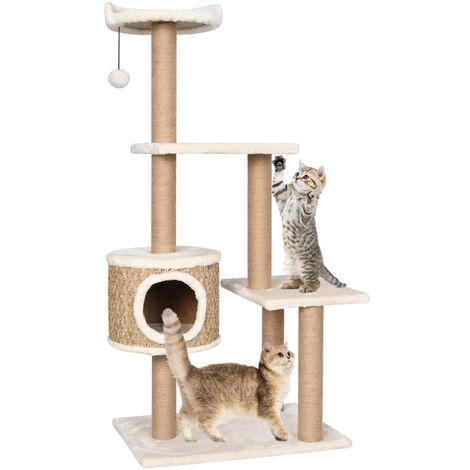103686 Juguete para gatos Cepillo con arco y rascador 36x28,5x34,5 cm
