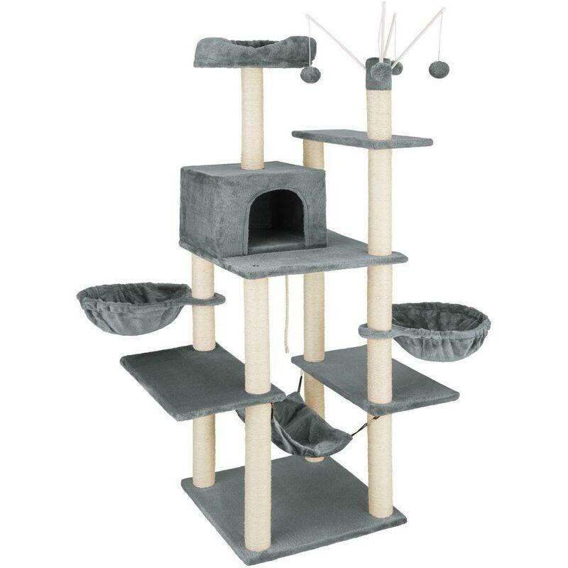 Arbre à chat 165 cm gris foncé - Gris
