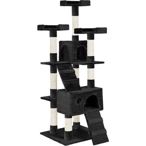 Arbre à Chat 169 cm GORAN Griffoir Noir