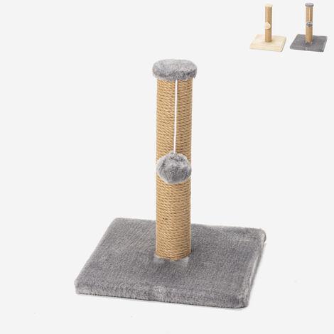 Arbre à chat avec jeu de balle en peluche et colonne 40 cm de jute LaPerm