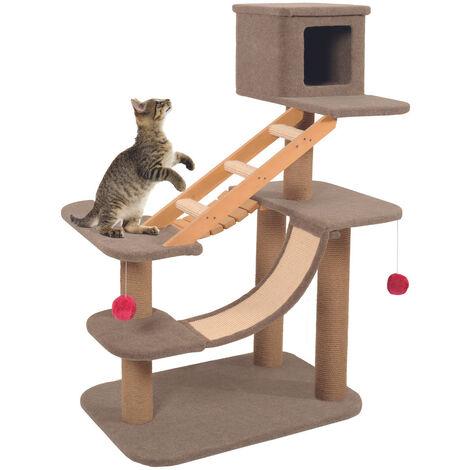 Arbre à chat Cat Park 2. taille 92 x 54 x 119 cm. pour chat.