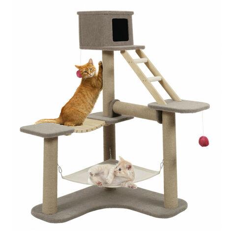 Arbre à chat Cat Park 3. taille 124 x 98 x 132 cm. pour chat.