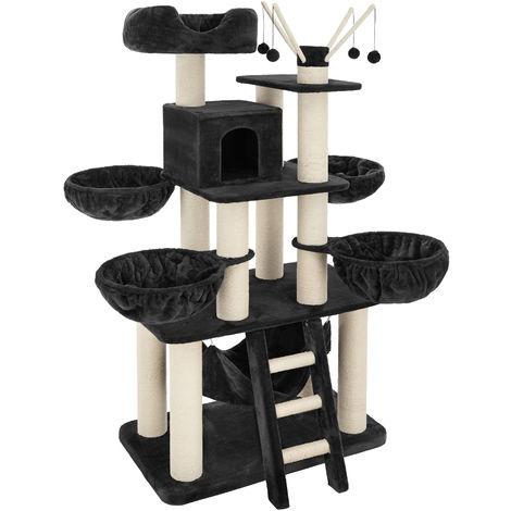Arbre à chat GISMO 195 cm - griffoir, grattoir geant, cadre d´escalade pour chat