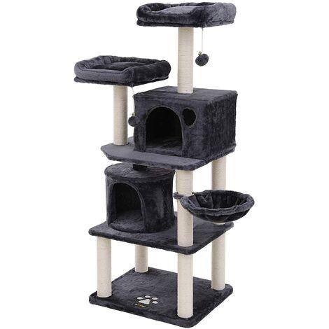 feandrea arbre chat hauteur de 140cm colonne en sisal. Black Bedroom Furniture Sets. Home Design Ideas
