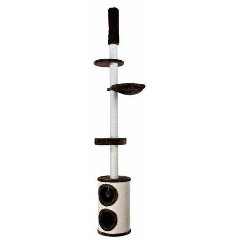 Arbre à chat linea, du sol au plafond - 225-265 cm, brun/naturel