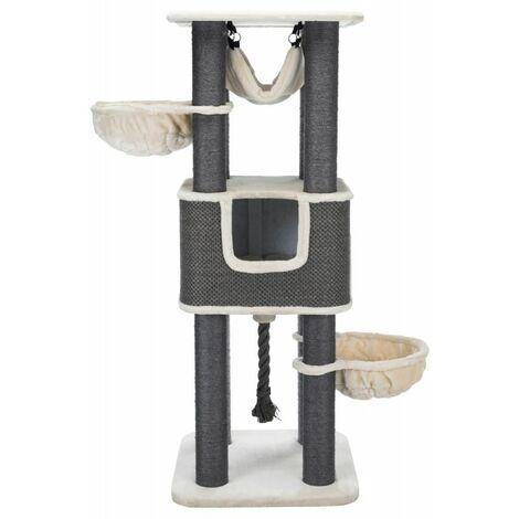 Arbre à chat XXL humberto - 174 cm, crème/gris