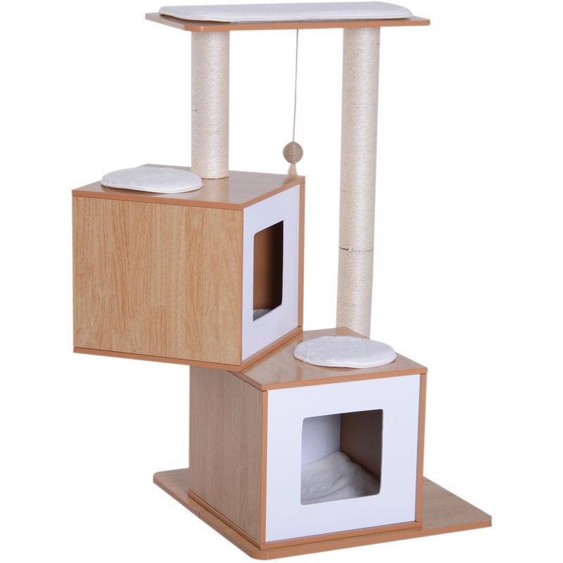 arbre chats design contemporain griffoirs grattoirs sisal naturel niches plate formes jeu. Black Bedroom Furniture Sets. Home Design Ideas