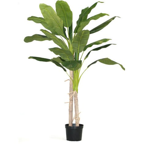 Arbre artificiel Bananier - Arbre Tropical - Hauteur 180 cm -PEGANE-