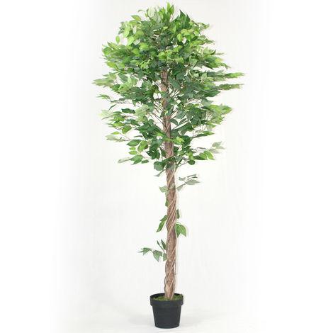 Arbre artificiel Ficus - Hauteur 180 cm -PEGANE-