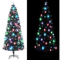 Arbre de Noël artificiel et support/LED 240 cm 380 branches